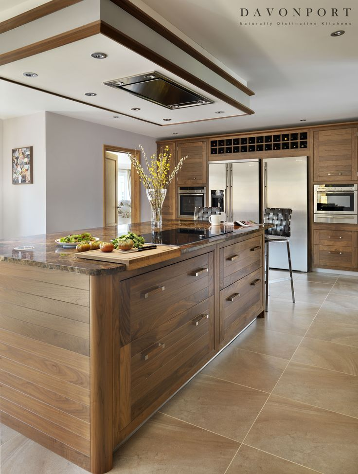 The Kitchen Island In This Design Is Used As A Practical Cooking Area. With  An Part 69