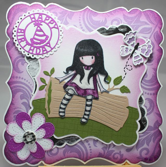 Les cartes de Blueberry: Miss Gorjuss