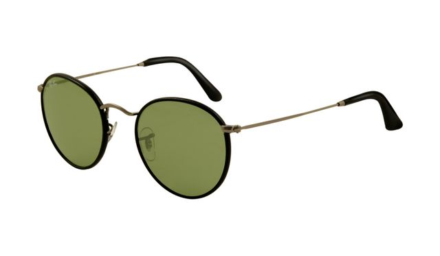 ray ban sunglasses black lense  ray ban rb3475q sunglasses black frame green crystal lens