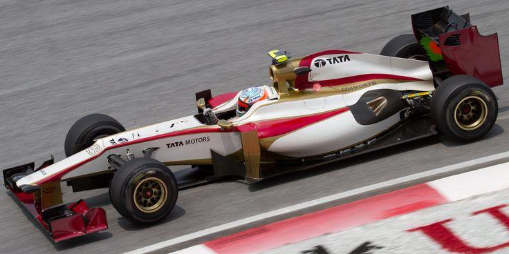 2012 GP Malezji (Narain Karthikeyan) HRT F112 - Cosworth
