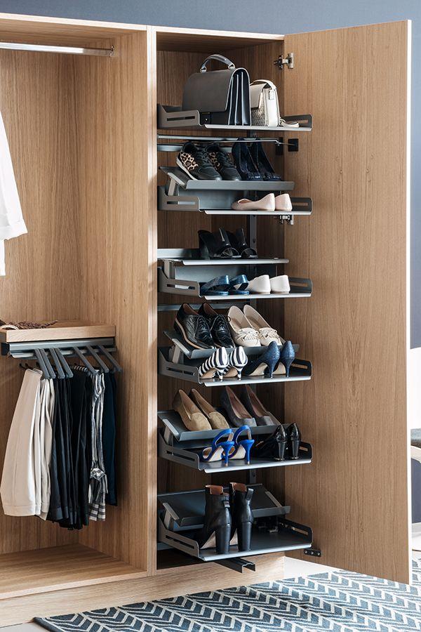 Ubersichtliche Und Platzsparende Aufbewahrung Fur Viele Schuhe Zu Hause Schuhschrank Aufbewahrung Ordnung