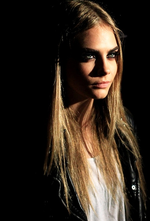 Cara Delevingne... I love this look