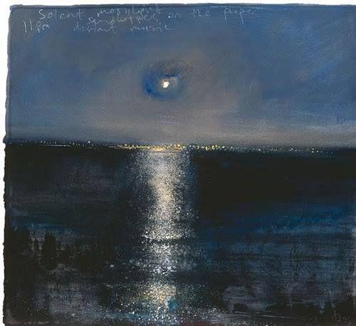 Solent Moonlight by Kurt Jackson