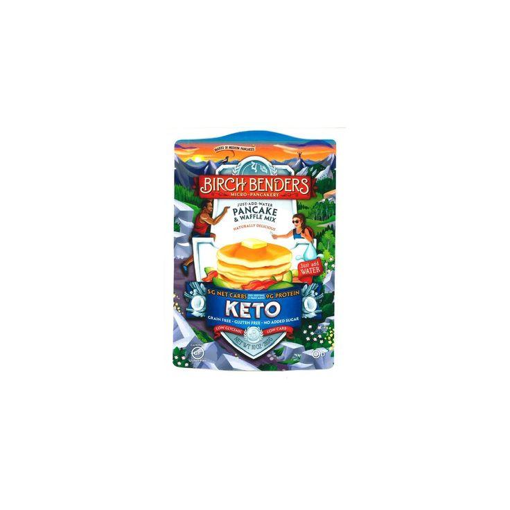 Birch benders gluten free keto pancake mix 10oz keto