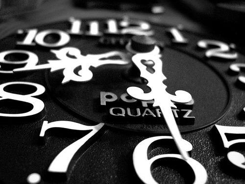 Time after time.: Clocks White, Black White Black Whit, Black Clocks, White Numbers, Wall Clocks, Ticktock, Ticking Tock, Clocks Tim, White Clocks