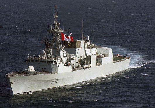 Royal Canadian Navy Halifax Class Frigate HMCS Toronto.