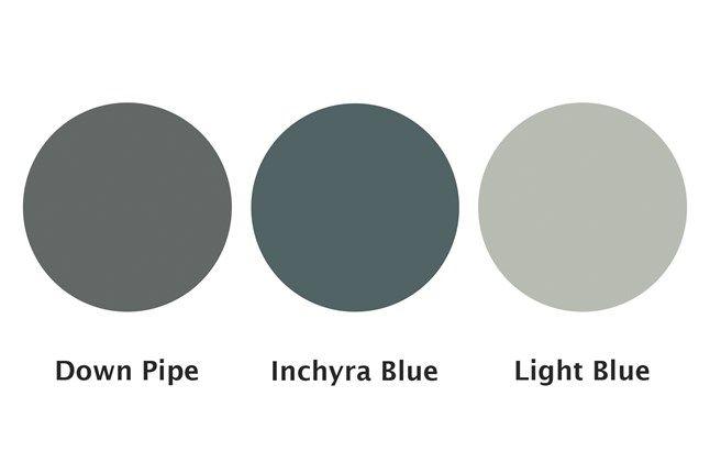Inchyra Blue| Paint Ideas for new Farrow & Ball colours 2016 (houseandgarden.co.uk)