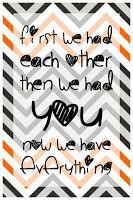 PL card, newborn quote
