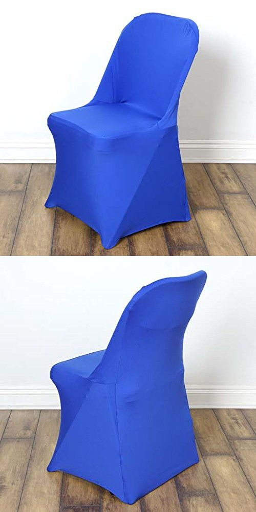 efavormart wedding chair covers how much does it cost to get a reupholstered 50pcs sleek spandex folding cover for event party royal blue