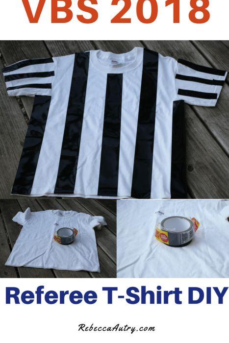 VBS Referee T-shirt DIY