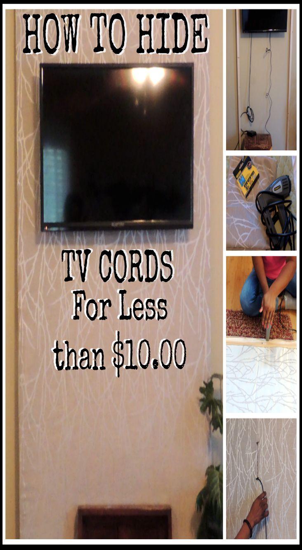 1000 ideas about hide tv cords on pinterest hide tv hidden tv and mount tv. Black Bedroom Furniture Sets. Home Design Ideas