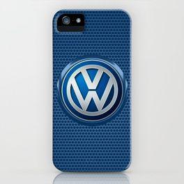 Volkswagon logo iPhone Case