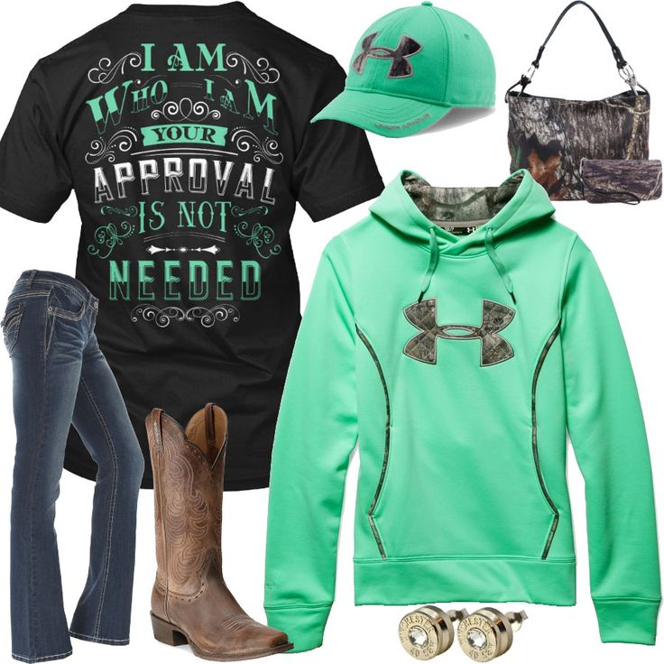I Am Who I Am, Your Approval Is Not Needed Outfit - Real Country Ladies