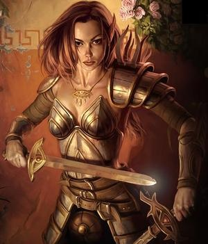 Aribeth de Tylmarand, paladin of Tyr, servant of Neverwinter