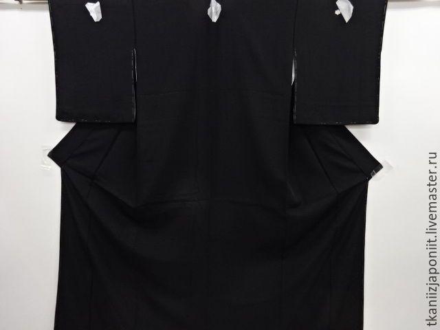 """Купить Японское кимоно """"Классика"""" - черный, кимоно, японское кимоно, японское кимоно купить"""