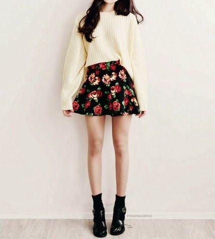How to Chic: 12 INSPIRATIONAL OUTFITS WITH FLORAL SKIRTS