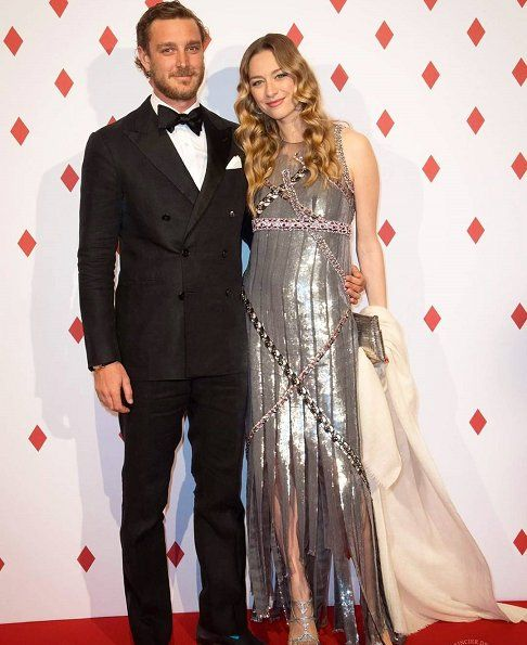 4/28/17*Pierre and Beatrice - Monaco Princely family attend the Surrealist Dinner Party