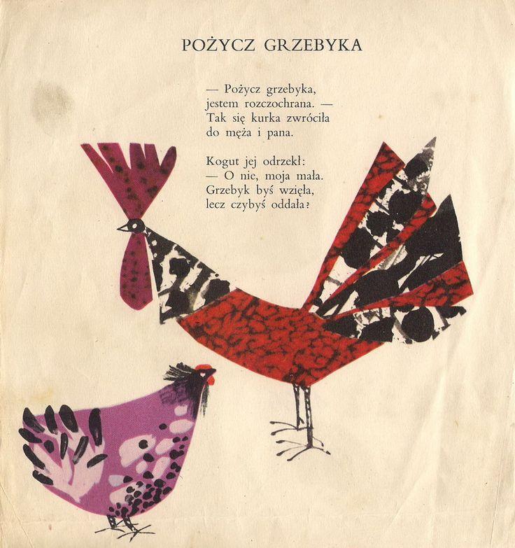 Garaż ilustracji książkowych: Narodziny obłoczka - Janina Krzemińska