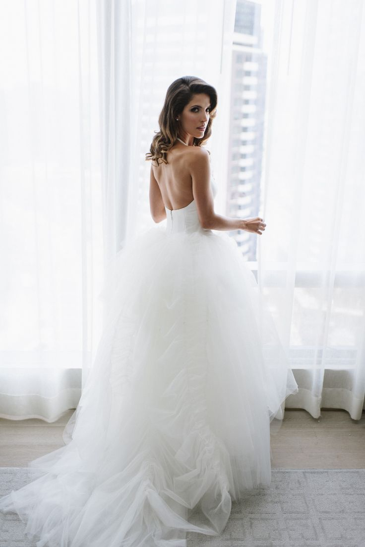 143 best fancy expensive love party images on pinterest for Second hand vera wang wedding dress