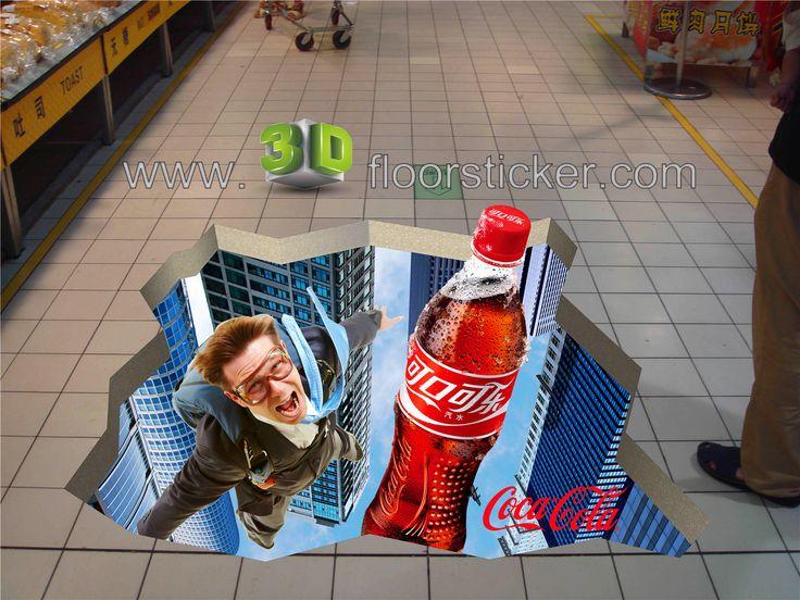 """""""3D floor sticker"""" """"3D wall sticker"""" """"3D poster"""" """"3D pavement sticker"""" """"3D…"""