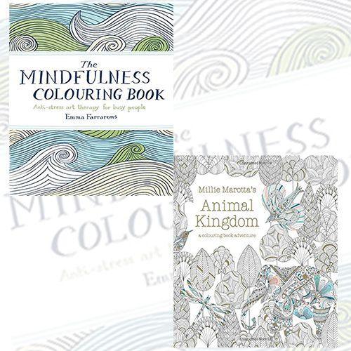 Colouring Book Collection 2 #Books Set at Cheap Price. PUBLISHER : Batsford Ltd, Author : #EmmaFarrarons & #MillieMarotta, GTIN : 9781849941679. Shop now!