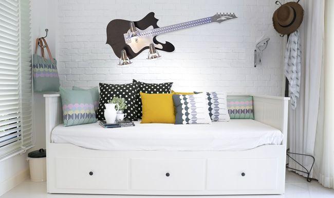 Kinkiet Gitarra (Nowodvorski) to lampa idealna do pokoju nastolatka :)