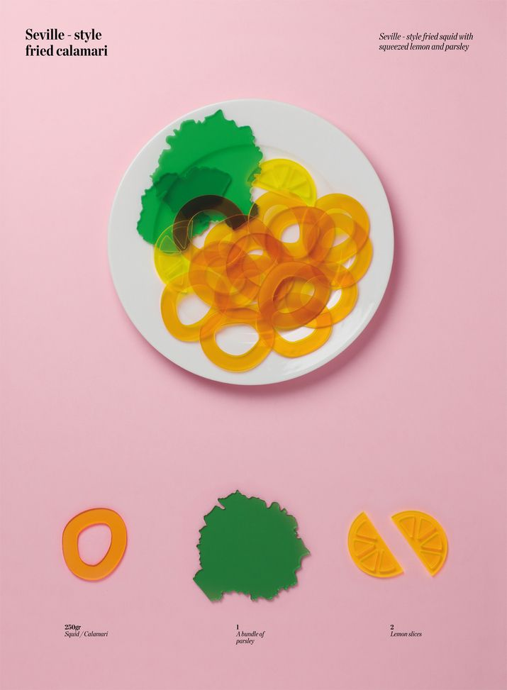 Poster for SPOLLO Kitchen designed by Lo Siento.