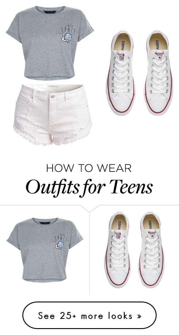 """simple style"" by dream-catcher-wolf-girl on Polyvore featuring New Look and Converse"
