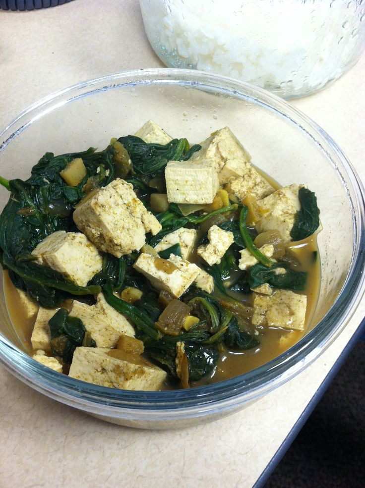 Tofu Saag Vegan Recipe