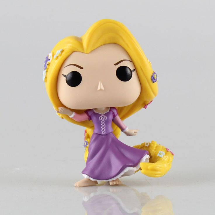 Funko Pop Princesa Rapunzel 10 cm Figuras de Acción #2245 Niños Brinquedo Regalo de Cumpleaños Envío Gratis