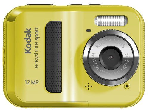 SPORT CAMERA - Kodak EasyShare Sport C123 12 MP Waterproof Digital Camera (Yellow) from Kodak $78.99