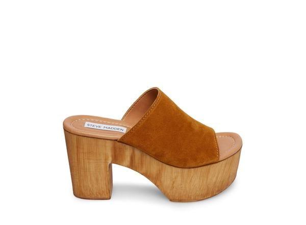 e4d604520ec Playdate chestnut suede in 2019 | Spring2019 | Shoes, Heels, Heeled ...