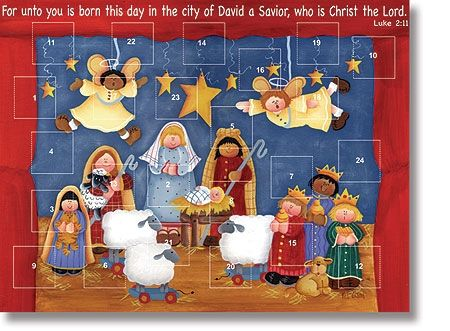 Born this Day… Advent Calendar