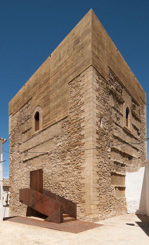 Restoration Of The Setenil De La Bodegas Homage's Tower - Picture gallery