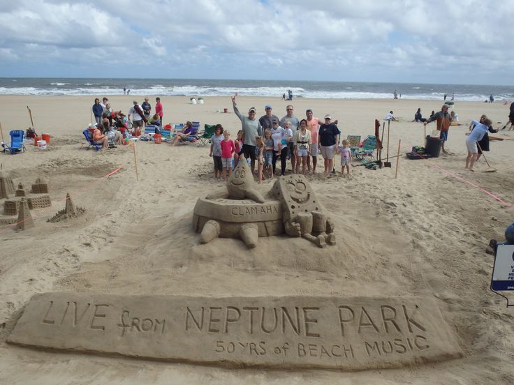 40th Annual Virginia Beach Neptune Festival BV Professionals Competed In A Sand Sculpting Contest Where