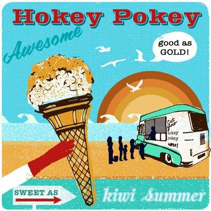 Oh the Hokey Pokey...a NZ based treat!