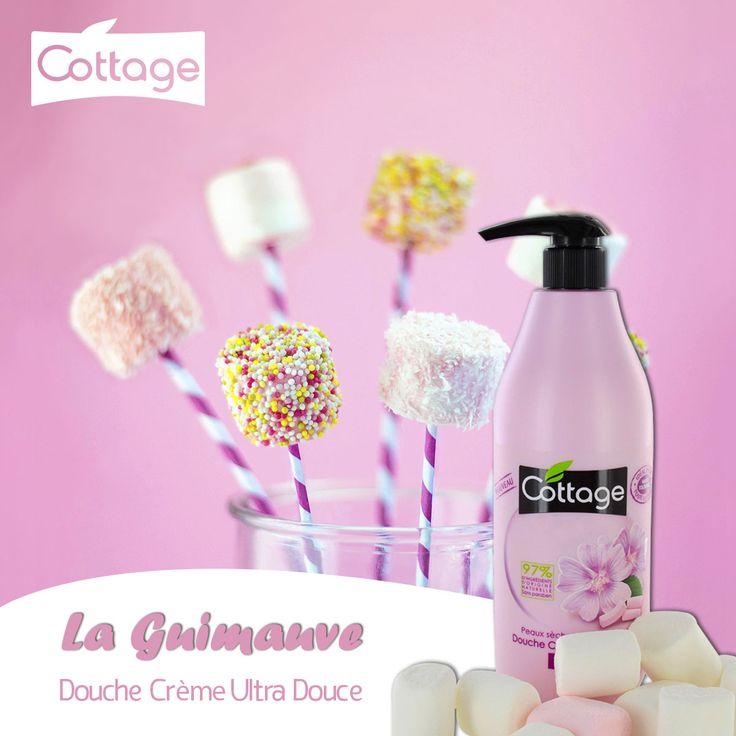 Douche Crème Ultra Douce La Guimauve - Cottage