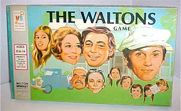 RARE Vintage 1974 THE WALTONS TV BOARD GAME - have this!!