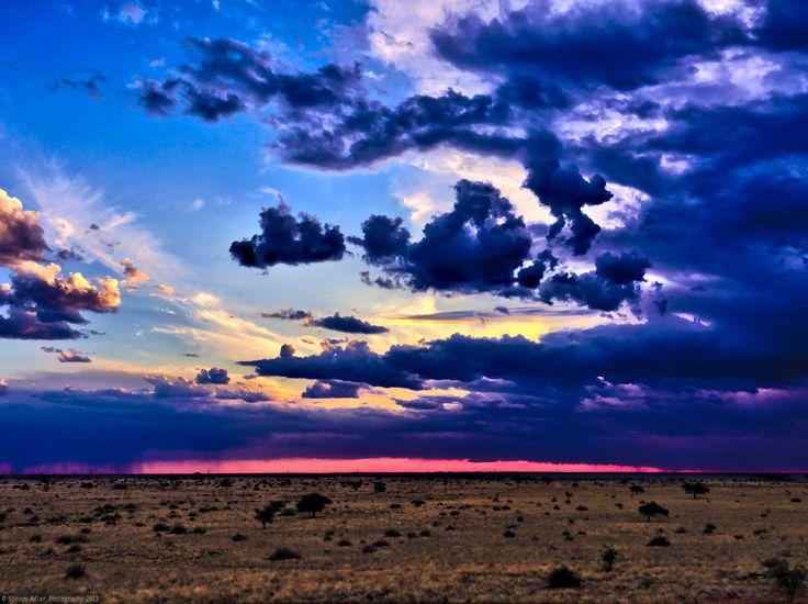 Kalahari Sunset by Steven Adler on 500px