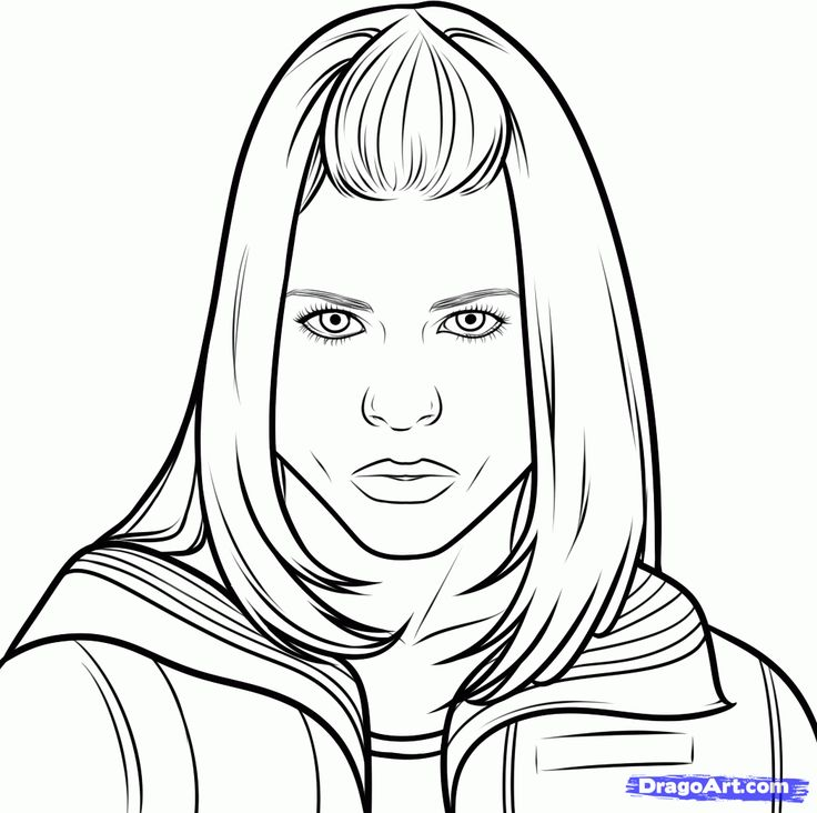 How to Draw Rose Tyler from Doctor Who, Step by Step, Characters, Pop Culture, FREE Online Drawing Tutorial, Added by Dawn, May 29, 2013, 5:36:35 am