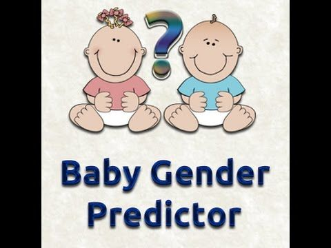 *NEW!* Pick the baby gender - Baby Gender Predictor