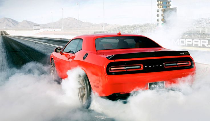 The 2015 Dodge Challenger Hellcat