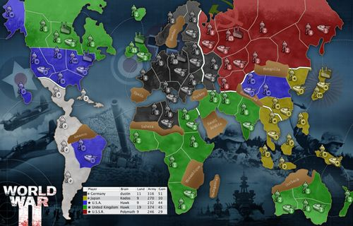 Axis and Allies Map Downloads | Castle Vox - Axis & Allies meets Diplomacy Strategy Game