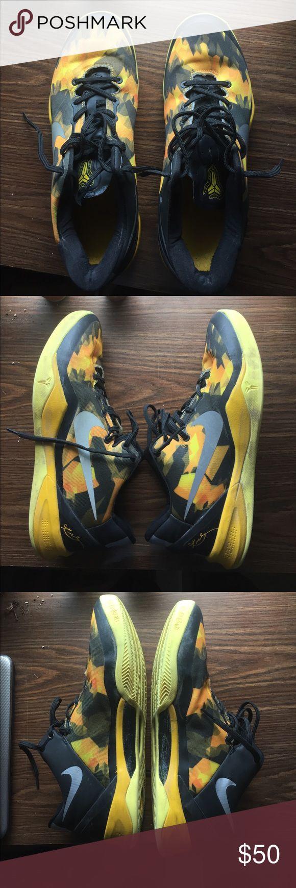Nike Kobe System 8s Nike Kobe basketball shoes, lightly wore Nike Shoes Sneakers