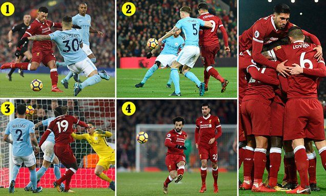 In a phenomenal eight minutes, Liverpool inflicted more damage on City than the rest of the league put together in the 2017-2018 season