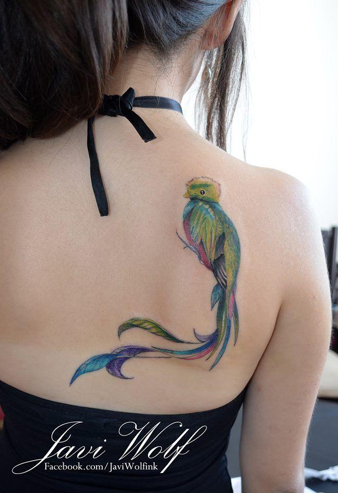 El Quetzal Javi Wolf  algún día...por su puño estará en mi espalda :3