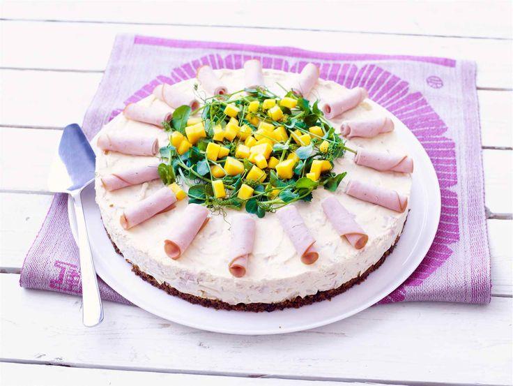 Mango-kalkkunakakku