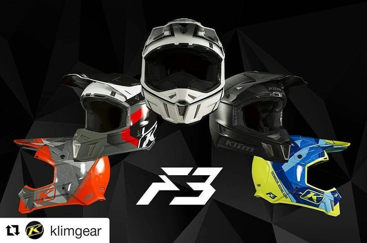 Klim tuo tulevalle talvelle uuden F3 kypärämallin! #drive_with_us @drivos_com  #Repost @klimgear  Introducing the NEW F3. Engineered to minimize neck fatigue and maximize impact protection.  Which one would you pick?  Available September 1st.  #KLIM #KLIMLife