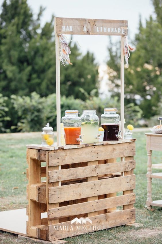 "Say ""I do"" to these rustic Fable 100 Wooden Pallet Wedding Ideas – wooden pallet decor"