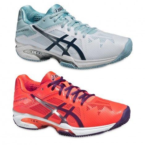 @asicseurope Gel-Solution Speed 3 Clay E651N #tennisschoenen voor vrouwen